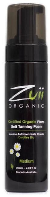 Zuii Organic Bio samoopalovací pěna Medium 200 ml