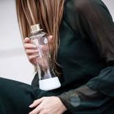 Equa Skleněná lahev z borosilikátového skla Eternity