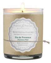 PLANTES & PARFUMS DE PROVENCE Řemeslně vyráběná sójová svíčka s vůní Borovice 180 g