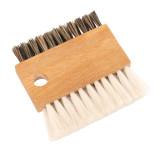Redecker Kartáček na čištění klávesnice bukové dřevo 7 x 7,5 x 1 cm