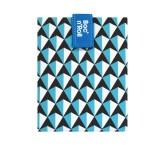 Roll'eat Trendy ekologická svačinová kapsa – Boc'n Roll Tiles Blue