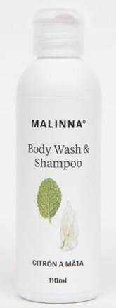 MALINNA° Šampon a sprchový gel Citron a máta