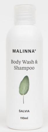 MALINNA° Šampon a sprchový gel Šalvěj