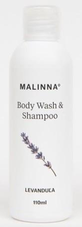 MALINNA° Šampon a sprchový gel Levandule