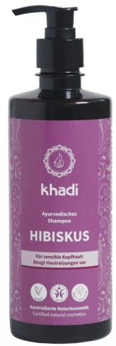 Khadi šampón IBIŠEK na citlivou pokožku