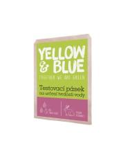 Yellow&Blue Testovací pásek na určení tvrdosti vody