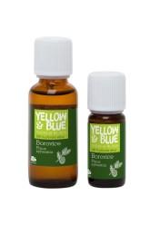 Yellow Blue Silice Borovice