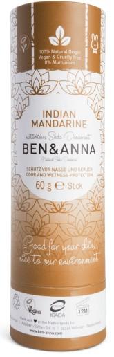 Ben & Anna Tuhý deodorant Indian Mandarin