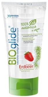 Bioglide Bio Lubrikační gel - Jahoda 80 ml