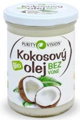 PURITY VISION Kokosový olej bez vůně Bio ve skle