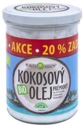 PURITY VISION Kokosový olej panenský Bio ve skle