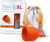 Merula Cup XL menstruační kalíšek pro ženy s nízkým čípkem - FOX
