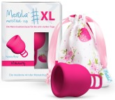 Merula Cup XL menstruační kalíšek pro ženy s vysokým a středním čípkem - STRAWBERRY