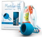 Merula Cup menstruační kalíšek pro ženy s nízkým čípkem - MERMAID