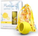 Merula Cup menstruační kalíšek pro ženy s nízkým čípkem - SUN