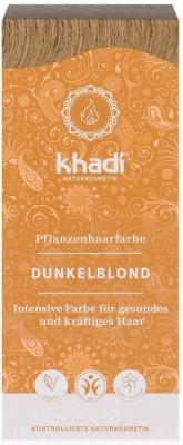 Khadi Rostlinná barva na vlasy TMAVÁ BLOND
