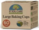IF YOU CARE  Pečící košíčky - velké 60 ks