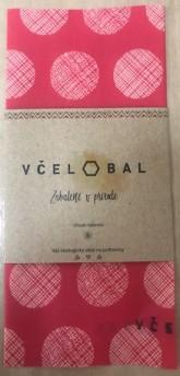 Včelobal Voskovaný ubrousek Cibuláček - Červený 20 x 20 cm
