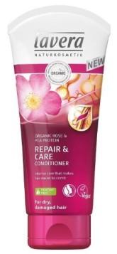 lavera Repair & Care kondicionér – pro hedvábně jemné vlasy