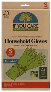 IF YOU CARE Rukavice na úklid a nádobí - Velikost S
