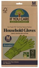 IF YOU CARE Rukavice na úklid a nádobí - Velikost M