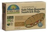 IF YOU CARE Sáčky na bagety a sandwich Velikost -  mini 30 ks