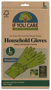 IF YOU CARE Rukavice na úklid a nádobí - Velikost L