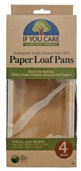 IF YOU CARE Papírová pečící forma 4 ks