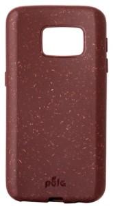 Pela Case Kompostovatelné pouzdro na Samsung S7 - Beetroot
