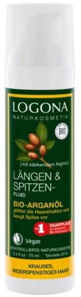 Logona BIO Fluid s arganovým olejem pro kudrnaté vlasy