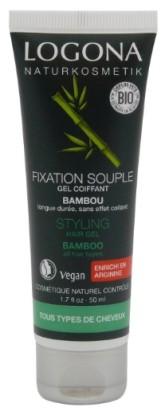Logona BIO Stylingový gel na vlasy Bambus