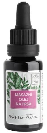 Nobilis Tilia Masážní olej na prsa