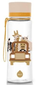 Equa Plastová lahev na pití pro děti Illusion collection - Safari