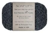 SoapLift - recyklovatelná mýdlenka z bioplastu GRAY 11 x 7,5 cm