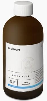 EcoHeart Ústní voda Máta a eukalyptus