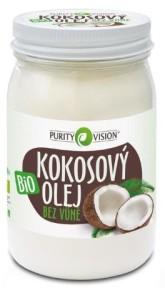 PURITY VISION Kokosový olej bez vůně Bio ve skle 420 ml