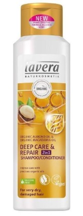 lavera Šampon a kondicionér 2v1 Deep care & Repair