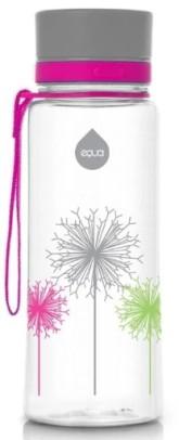 Equa Plastová lahev na pití pro děti Illusion collection - Dandelion 0.6 l