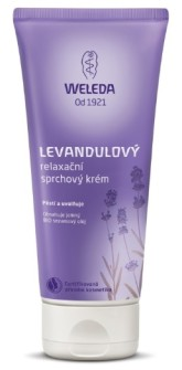 Weleda Levandulový relaxační sprchový krém