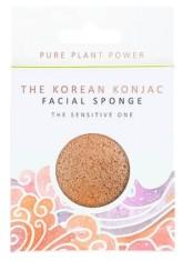 The Konjac Sponge Company Konjacová houbička Element Vzduch s heřmánkem a růžovým jílem