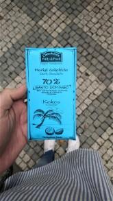 Chocolaterie Willy a Pauli BIO Hořká čokoláda 70% Santo Domingo s kokosem