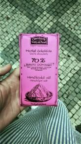 Chocolaterie Willy a Pauli BIO Hořká čokoláda Santo Domingo 70% s Himalájskou solí
