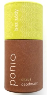 Ponio Citrus - přírodní deodorant soda free
