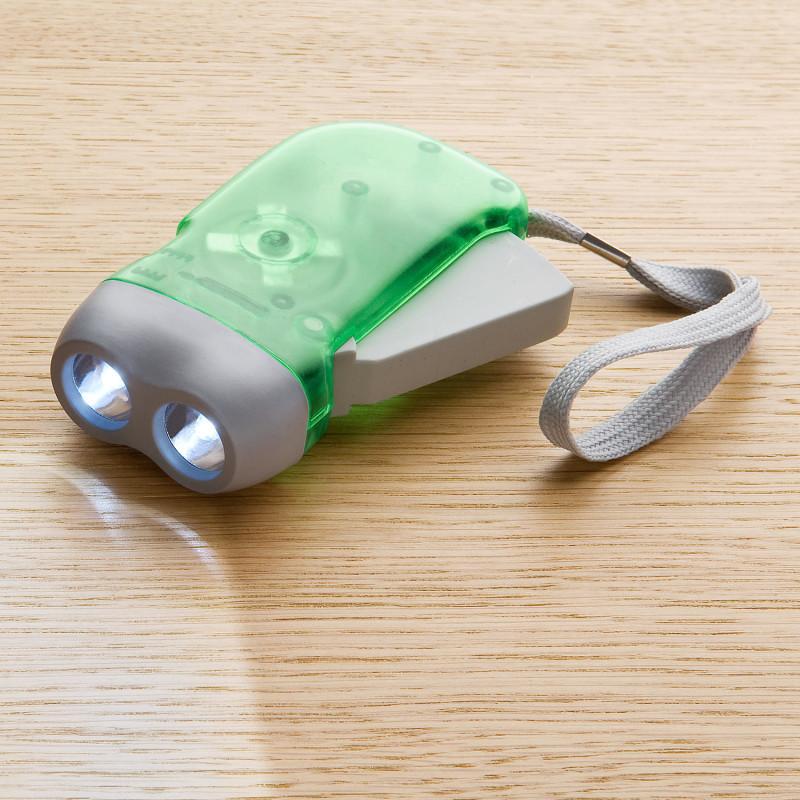 Vrecková baterka s dynamom