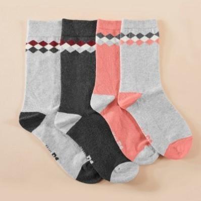 Dámske ponožky, súprava 2 páry