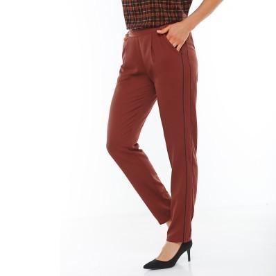 Vzdušné kalhoty s postranními lemy