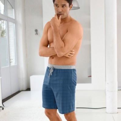 Pyžamové šortky kockované/s potlačou, 2 ks