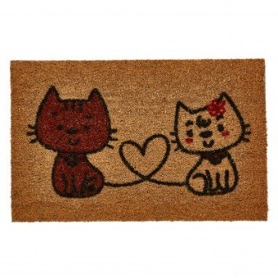 Rohožka s motívom mačiek