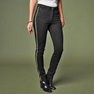 Tvilové úzké kalhoty