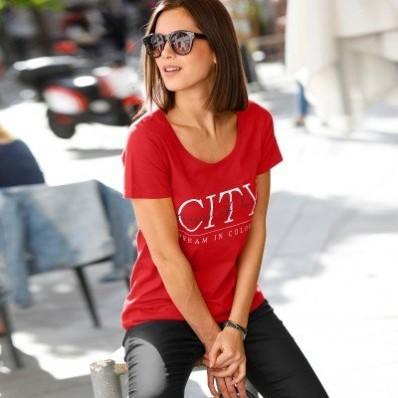 Tričko s textovou potlačou